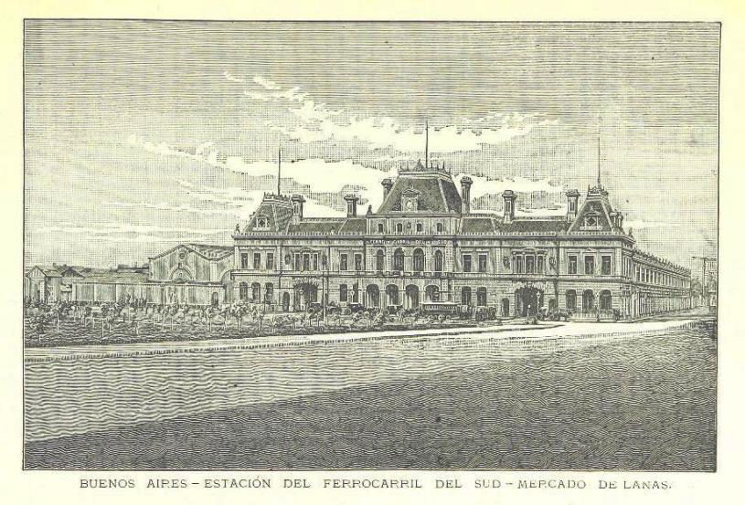 Grabado de 1888 Una Descripción Amena de la República Argentina