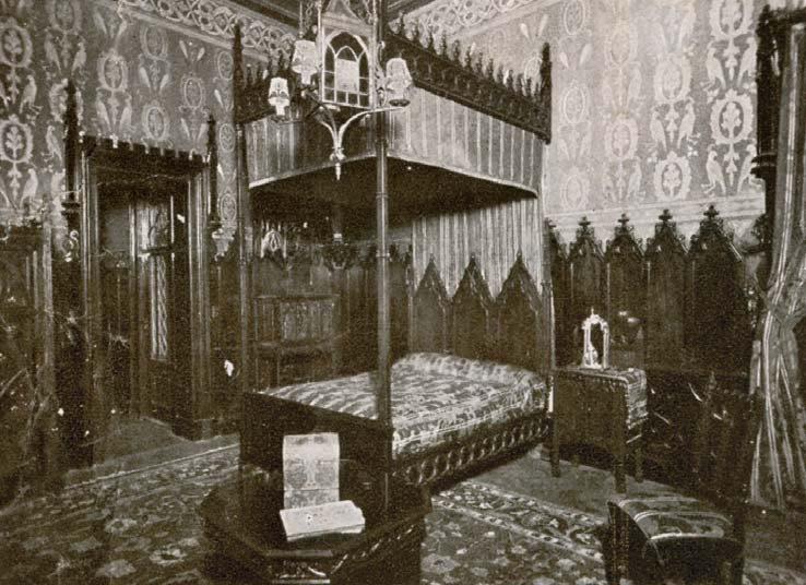 El Castillo Naveira a Principios de Siglo - Dormitorio de Matilde Naveira