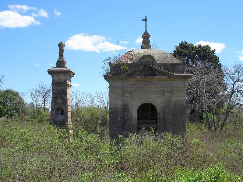 Tumbas en el Cementerio Sud de San Andres de Giles