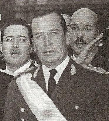 El General Pedro Eugenio Aramburu en 1956.
