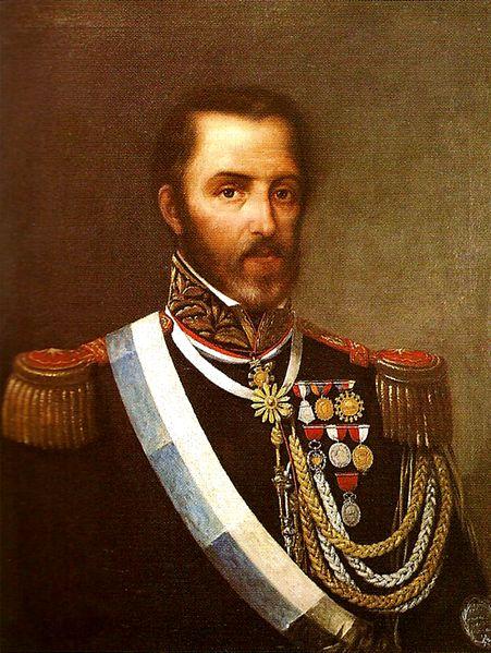 Retrato de Juan Lavalle, general unitario.