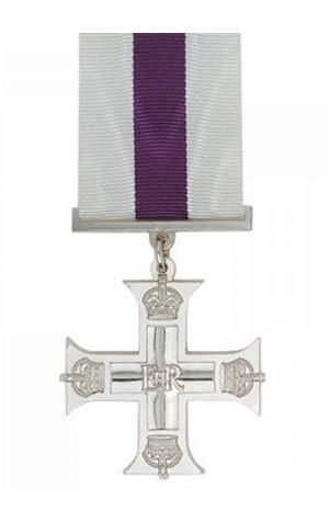 Medallas Británicas: La Cruz Militar.