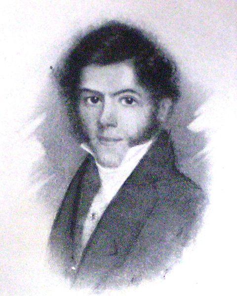 Francisco Javier Muñiz en su juventud.