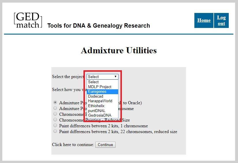 Buscar ancestría Ashkenazi en GedMatch con Jtest - Eurogenes