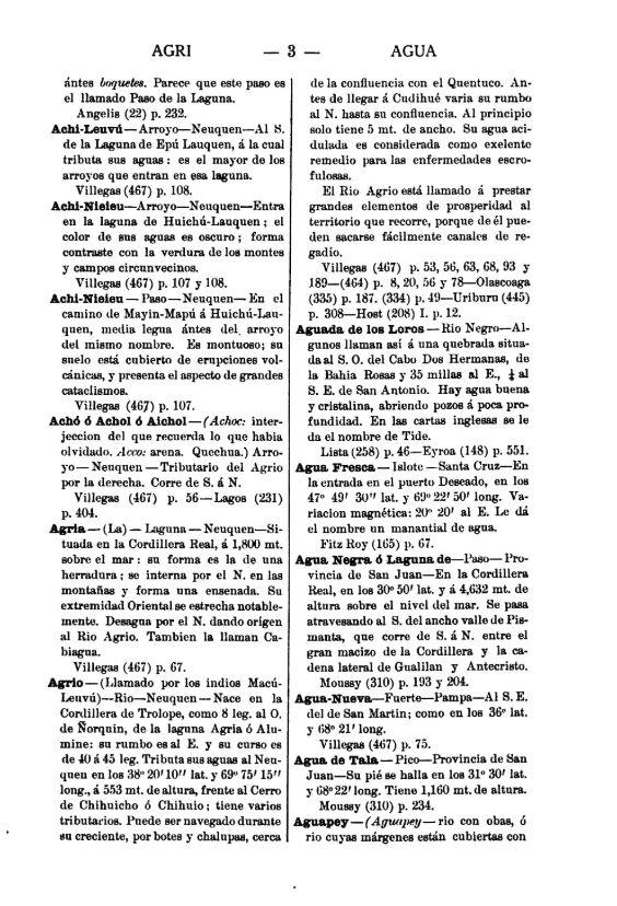 Diccionario geográfico estadístico nacional argentino - Página