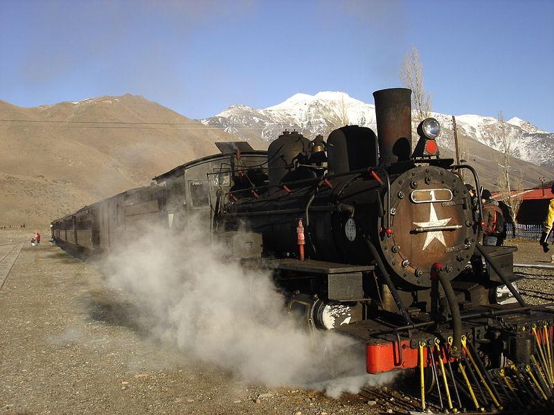 La Trochita del Ferrocarril General Roca.