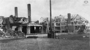 El día después del incendio en el Hotel Llao-Llao