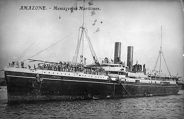 Amazone - Messageries Maritime, 1896-1932
