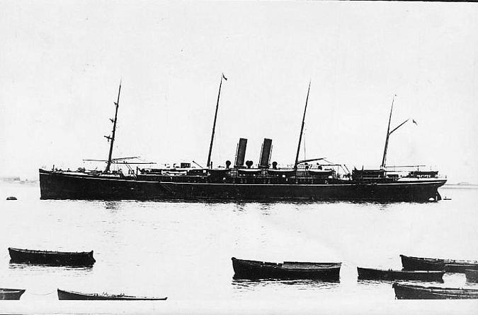 Arcadia - Hamburg Sudamerikanisch Dampfschiffahar Gesehschaft, 1897-1917