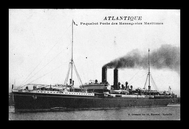 Atlantique - Messageries Maritime, 1899-1933