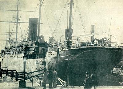 Buenos Aires - Compañía Trasatlántica Española, 1887-1942