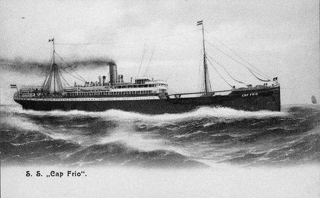 Cap Frio - Hamburg Sudamerikanisch Dampfschiffahar Gesehschaft, 1899-1908