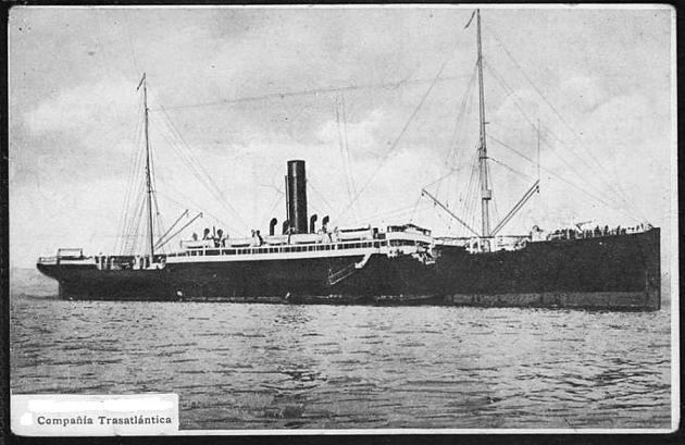 Cataluña - Compañía Trasatlántica,1883-1923