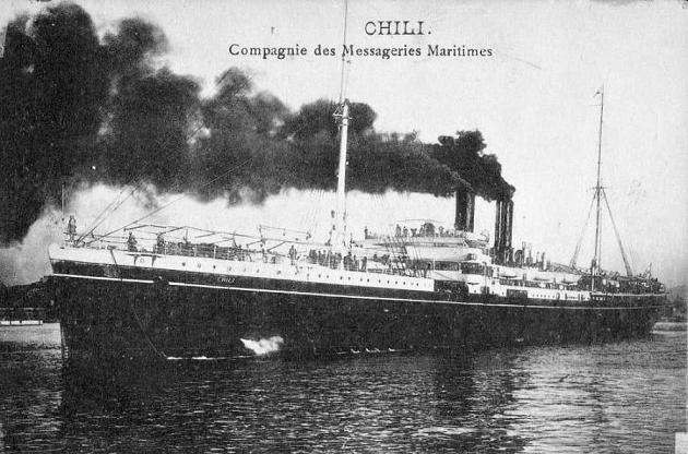 Chili - Messageries Maritime, 1894-1927