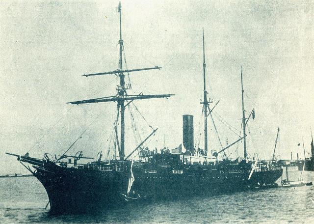 Ciudad de Cadiz - Compañía Trasatlántica Española, 1878-1924