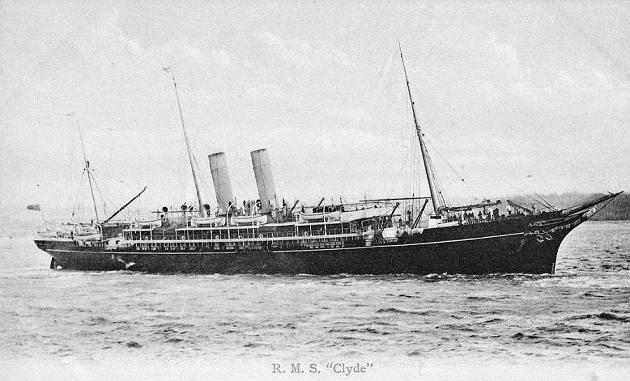 Clyde - Royal Mail Steam Packet Company, 1890-1913