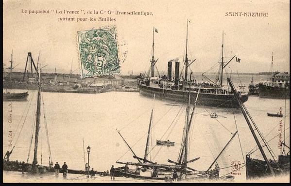 La France - Societé Generale de Transports Marítimes, 1871-1895
