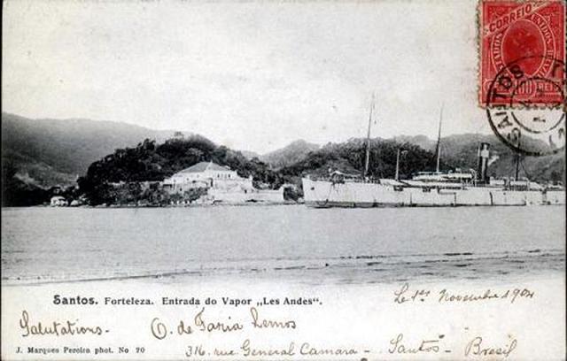 Les Andes -Societé Generale de Transports Maritimes, 1882-1908