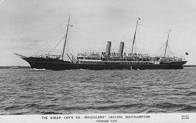 Magdalena - Royal Mail Steam Packet Company, 1889-1921
