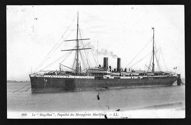 Magellan - Messageries Maritime, 1897-1903