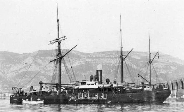 Medoc - Messageries Maritime, 1885