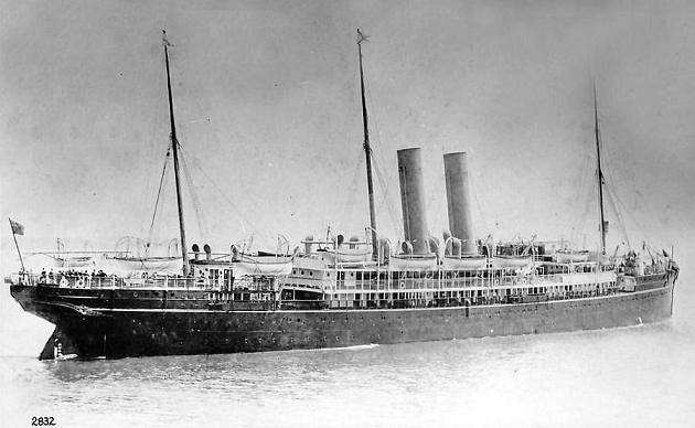 Nile - Royal Mail Lines, 1893-1925