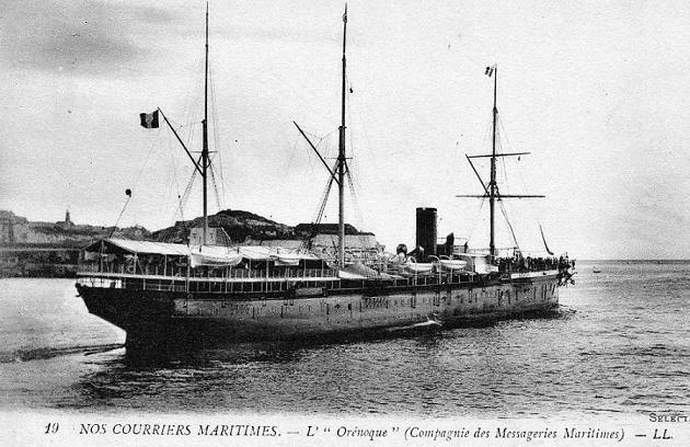 Orenoque - Messageries Maritime, 1874-1925