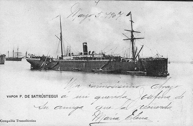 Patricios de Satrustegui - Compañía Trasatlántica, 1889-1927