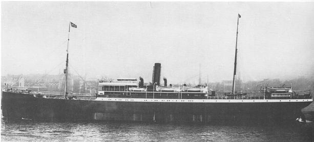 Pernambuco II - Hamburg Sudamerikanisch Dampfschiffahar Gesehschaft, 1897-1915