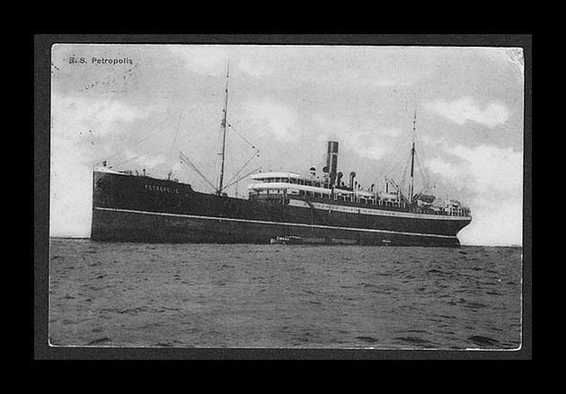 Petropolis II - Hamburg Sudamerikanisch Dampfschiffahar Gesehschaft,1897-1918