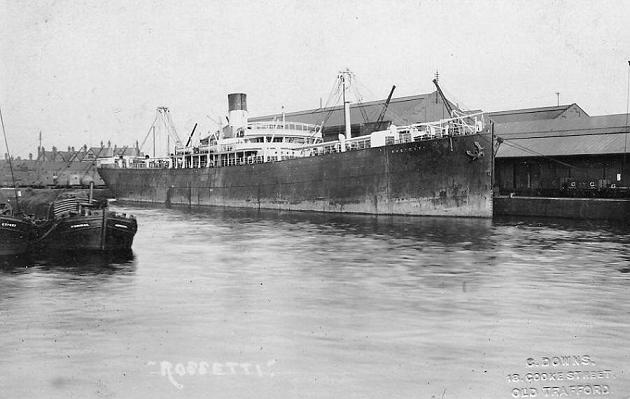Rossetti - Lamport & Holt, 1900-1929