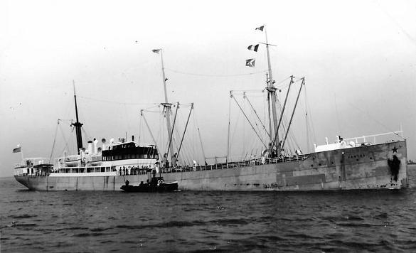 Santos III - Hamburg Sudamerikanisch Dampfschiffahar Gesehschaft, 1898-1961