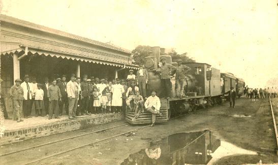Ferrocarril del Este- Estación