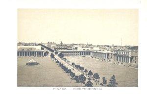 Grabados Italianos de Montevideo: Plaza Independencia