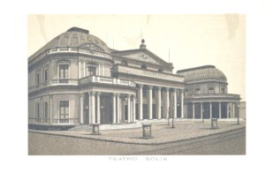 Grabados Italianos de Montevideo: Teatro Solís