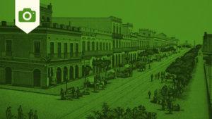 Grabados e Imágenes Antiguas de Montevideo, Uruguay, en 1885