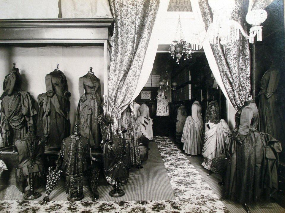 Casa Dupuy, sección modas. Buenos Aires, 1876.