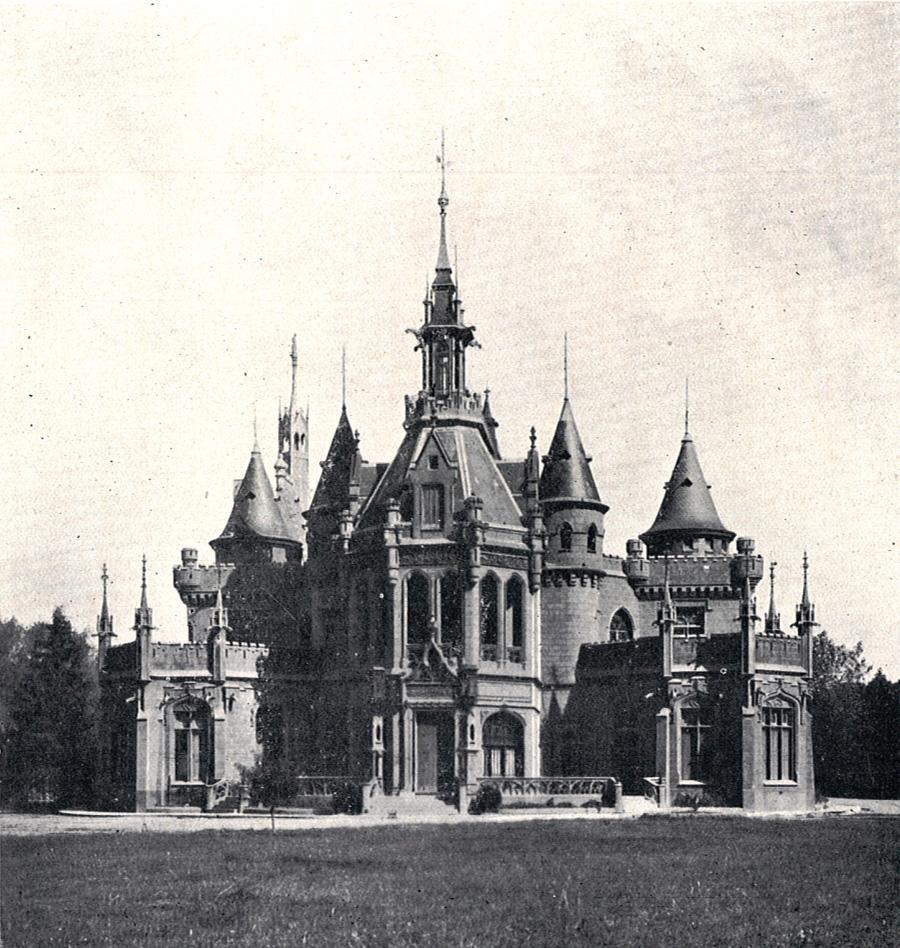 El Castillo Naveira a principios del Siglo XX