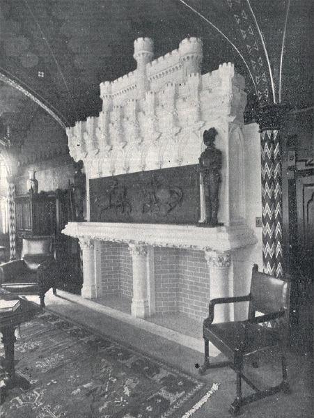 El Castillo Naveira a Principios de Siglo - Interior