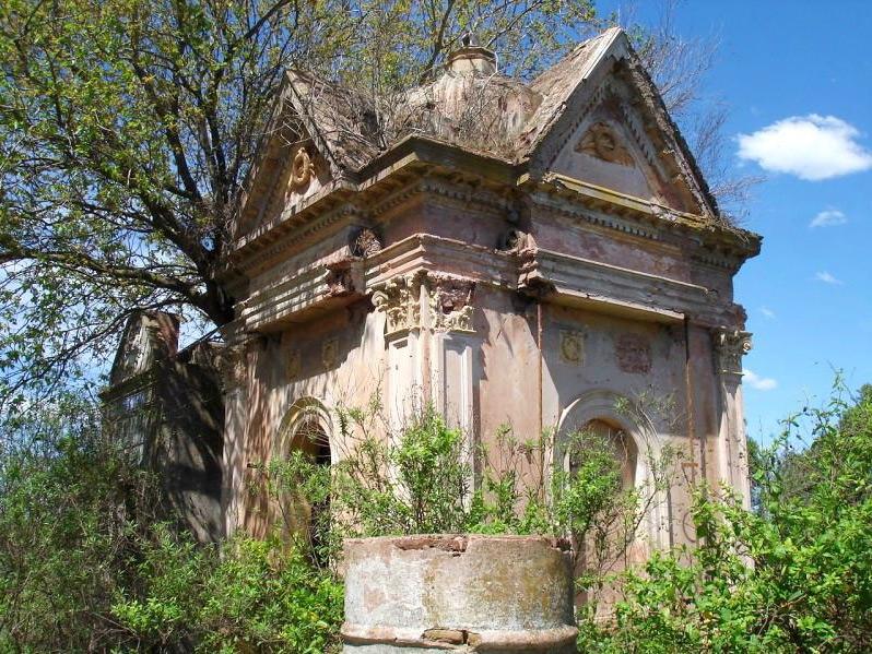 Mausoleo en el Cementerio Sud de San Andrés de Giles.