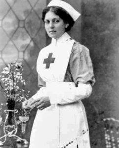 Violet Constance Jessop, quien sobrevivió al hundimiento del Titanic. Nacida en Bahia Blanca en 1887.