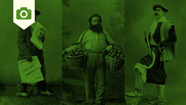 Fotos antiguas de trabajadores e inmigrantes