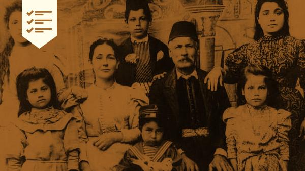 Cómo Buscar Parientes y Ancestros Sirios y Libaneses