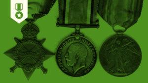 Listado de Medallas Británicas de la Primera Guerra Mundial