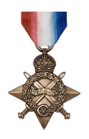 Medallas Británicas: La Estrella de 1914-15.