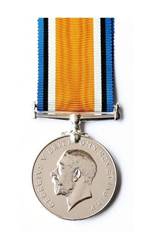 Medallas Británicas: La Medalla de Guerra Británica de 1914-1920.