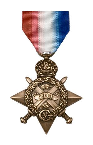 Medallas Británicas: La Estrella de 1914.