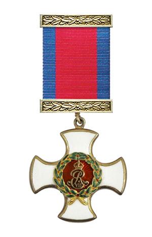 Medallas Británicas: La Orden de Servicio Distinguido.