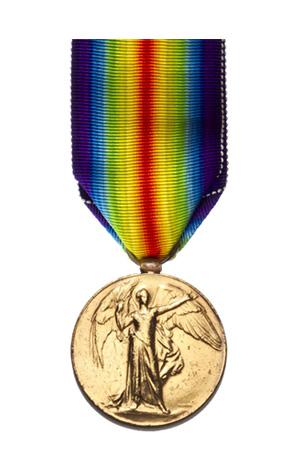 Medallas Británicas: La Medalla de la Victoria.