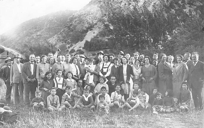 Año 1931, primer encuentro de inmigrantes húngaros residentes en Chile.